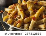 homemade salty cheese french... | Shutterstock . vector #297312893