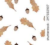 seamless watercolor vector... | Shutterstock .eps vector #297332507