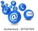 email  web and internet concept ... | Shutterstock . vector #297367493