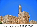 The Tower Of David In A Clear...