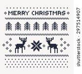Christmas Winter Pattern Print...