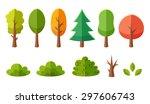 Isolated Cartoon Trees And...