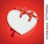 seasons greetings card | Shutterstock .eps vector #297704963