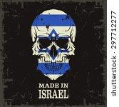 skull color of the flag | Shutterstock .eps vector #297712277