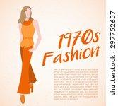 world fashion history set  ... | Shutterstock .eps vector #297752657