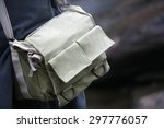 green shoulder bag  | Shutterstock . vector #297776057