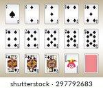 Spades Playing Cards Set