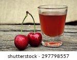 fresh cherries                 ... | Shutterstock . vector #297798557