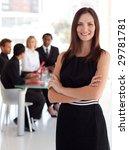 female business leader in... | Shutterstock . vector #29781781