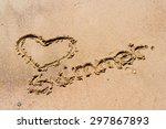 Summer Handwritten In The Sand...