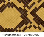 background snake skin | Shutterstock .eps vector #297880907