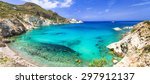 beautiful nature of greece ... | Shutterstock . vector #297912137