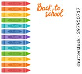 Vector School Background With...