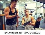 sport  fitness  equipment ... | Shutterstock . vector #297998627