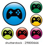 game sign icon. color...
