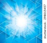 star burst background | Shutterstock .eps vector #298015457