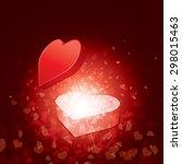 seasons greetings card | Shutterstock .eps vector #298015463