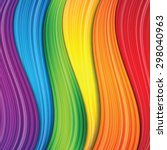 abstract rainbow background... | Shutterstock .eps vector #298040963