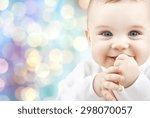 children  people  infancy and... | Shutterstock . vector #298070057