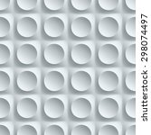seamless wall panel with... | Shutterstock . vector #298074497