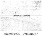 grunge textures.distress... | Shutterstock .eps vector #298080227