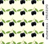 seamless vector pattern with... | Shutterstock .eps vector #298153193