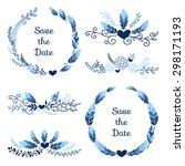 Set Of Holiday Symbols  ...