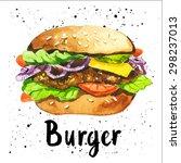 vector illustration with... | Shutterstock .eps vector #298237013