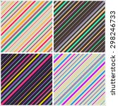 abstract colorful diagonal... | Shutterstock .eps vector #298246733