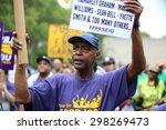 new york city   july 19 2015 ... | Shutterstock . vector #298269473