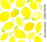 seamless pattern with hand... | Shutterstock . vector #298278593