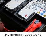 car battery | Shutterstock . vector #298367843