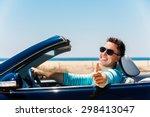portrait of attractive young... | Shutterstock . vector #298413047