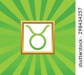 image of taurus zodiac symbol...