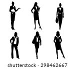 vector illustration of a six... | Shutterstock .eps vector #298462667