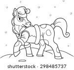 pony | Shutterstock .eps vector #298485737