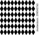 seamless harlequin or argyle...   Shutterstock .eps vector #298543763