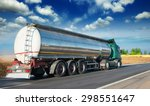 automotive fuel tankers... | Shutterstock . vector #298551647