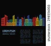 Cityscape Graphic Template....