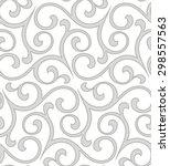 floral pattern. wallpaper... | Shutterstock .eps vector #298557563