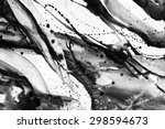 black and white abstract... | Shutterstock . vector #298594673