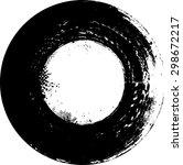 grunge rectangle element for... | Shutterstock .eps vector #298672217