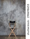 Empty Directors Chair Against...