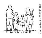 family | Shutterstock .eps vector #298711187