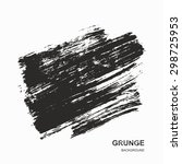 grunge background   black and... | Shutterstock .eps vector #298725953