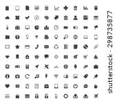 web icons big set | Shutterstock . vector #298735877