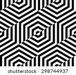design element.  black and... | Shutterstock .eps vector #298744937
