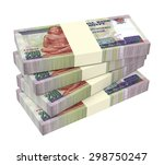 egyptian pounds isolated on... | Shutterstock . vector #298750247