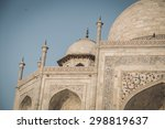 close up view of taj mahal from ... | Shutterstock . vector #298819637
