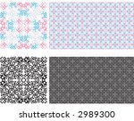 two colored wallpaper | Shutterstock .eps vector #2989300
